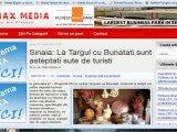 Sinaia: La Targul cu Bunatati sunt asteptati sute de turisti
