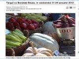 Târgul cu Bunătăți Sinaia, în weekendul 27-29 ianuarie 2012