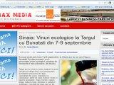 Sinaia: Vinuri ecologice la Targul cu Bunatati din 7-9 septembrie