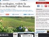 """Vinurile ecologice, vedete la """"Târgul cu Bunătăți"""" din Sinaia"""